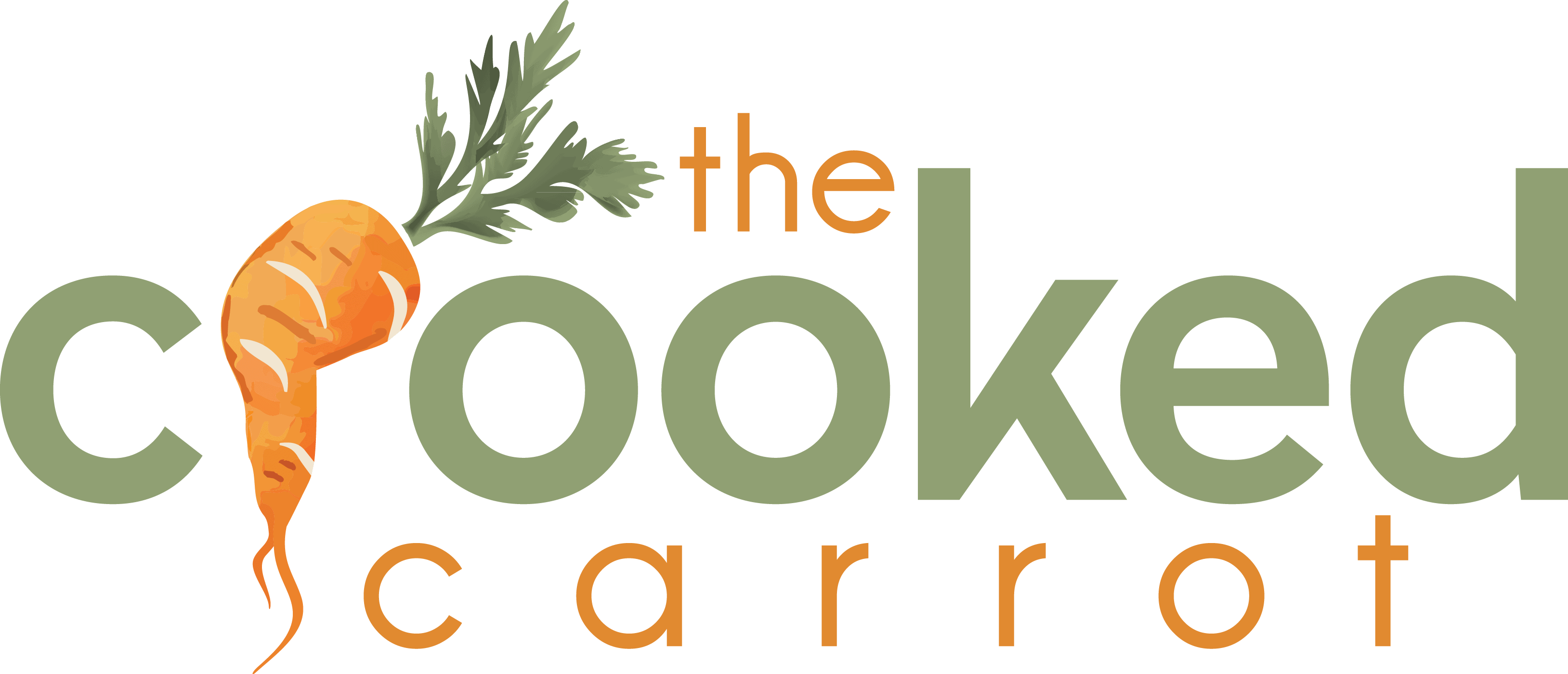 The Crooked Carrot logo