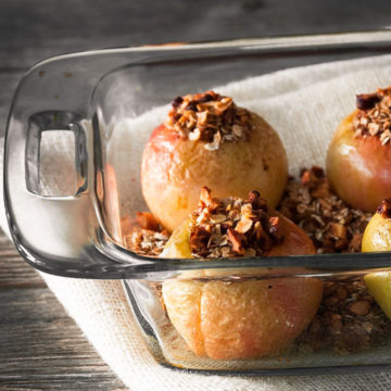 cinnamon baked apples