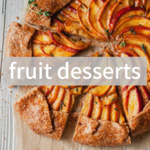 Fruit-based desserts